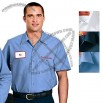 Custom Printed Short Sleeve Industrial Work Shirt