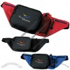 Deluxe Waist Pack has 5 zippered compartments with a mesh bottle holder