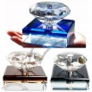 Diamond Crystal 15ml Car Perfume Bottle
