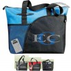 Excel Sport - Zippered Carry-all Tote Bag With Rear Id Window And Open Back Pocket