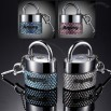 Key PadLock Diamond Crystal Car Perfume