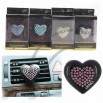Mini Practical Car Air Outlet Heart Shaped Perfume Aroma Decor