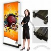 Outdoor Double-Sided Banner Stand