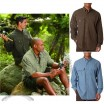 Outfitter Long-Sleeve Custom Printed Work Shirt - Men's