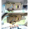 PU Leather Auto Sun Visor CD Holder 8 CD Storage
