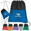 Two Tone Lightweight Drawstring Pack