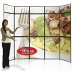 10ft Backwall Panel Display Graphic Package
