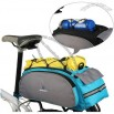 13L Cycling Bike Bicycle Frame Rack Pack Multifunctional Bag Blue