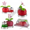 2 in 1 Flip Flap Potted Flower and Perfume Bottle Solar Power Swaying Toy