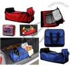 3 Compartment Multi Cargo Collapsible Expandable Car Trunk Storage Cooler Caddy Organizer