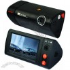 3.0 Inch LCD Dual Lens Car Video Recorder with Night Vision and G-Sensor GPS