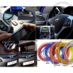 3D DIY Automobile Car motor Interior Exterior Decoration Moulding Trim Strip line Sticker