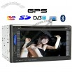 6.2 Inch Car DVD Player System with DVB-T and GPS - Dual Zone Functionality