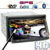 7 Inch High-Def Car DVD Player with GPS and DVB-T - True Touchscreen and FREE Magnet Antenna