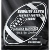 Acrylic Fantasy Football Award