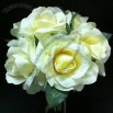 Artificial Rose Flowers, Bouquet for Bride and Wedding Party