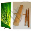 Bamboo Pull Up Banner Stands