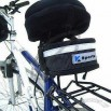 Bicycle Seat Bag with Plastic Buckle and Reflective Strip 12 x 18 x 8cm