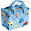 Blue Cars Insulated Funky Lunch Bag