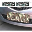 Camouflage auto license plate cover