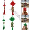 Car Handmade Knit Tassel Bronze Coin Decor Chinese Knot Ornament
