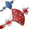Chinese Knot Ethnic Dangling Chinese Fan Shape Wall/Door Ornaments Embroidery Collection