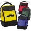 Customizable Dual Compartment Insulated Lunch Bag