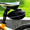 Cycling Bicycle Bike Saddle Outdoor Pouch Seat Bag With Rain Cover 1680D
