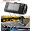 Dual Lens Car Dvr Camera Dual 720P Driving Recorde