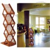 Easy Z-Rack Bamboo Brochure Holders