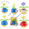 Egg Shaped Flip Flap Potted Flower Solar Power Swaying Toy