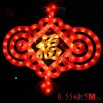 Flashing LED Chinese knot