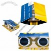 Folding Cardboard Card Binoculars