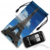 Full Colour Digital Printed Microfiber Pouch for Glasses and Cellphone