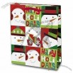 Gift Bag for Christmas in Snowman Design