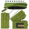 Green Leather Credit Card Wallet