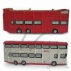 Hand-painted Bus Polyresin Decor