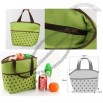 Insulated Tote Bag Green