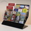 Jumbo Acrylic Literature Holder W/Adjustable Pockets