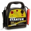 Jump Starter with 12V Rechargeable DC Power Port and Battery Status Level Indicator