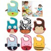 Latest Zoo Design Waterproof Baby Bib