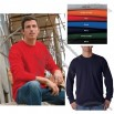 Long-Sleeve Pocket Personalized T-Shirt - Colors
