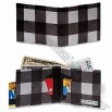 Men's Black Plaid Mighty Tyvek Wallet