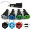 Mini USB In-car Charger Compatible with iPhone/iPod/iPad and MP3/MP4 Players