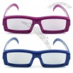 Plastic Circular Polarized Real D 3D Glasses