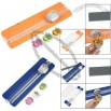 Plastic Rotary 3 Types Blade Craft Paper Trimmer w Pull-out Ruler