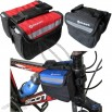 Popular Mountain Bike Front Frame Twin/Double Bag/Bicycle Saddle Bag