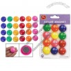 Presentation Whiteboard Colors Round Magnetic Button