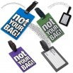 Security Not Your Bag Rubber Luggage ID Tag