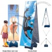 Single-Sided and Double-Sided Outdoor Banner Stand